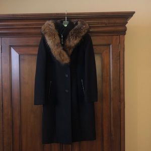 Mackage knee length wool coat